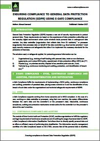 GDPR-using-e-Safe-Compliance